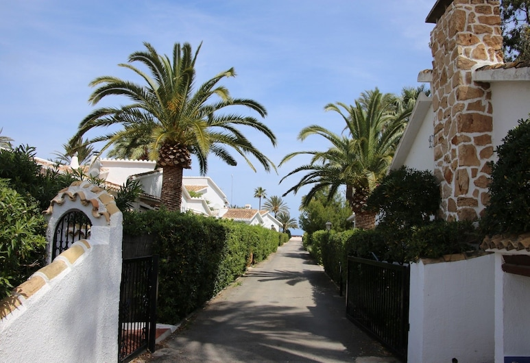 Villa La Palmera, Denia, Property entrance