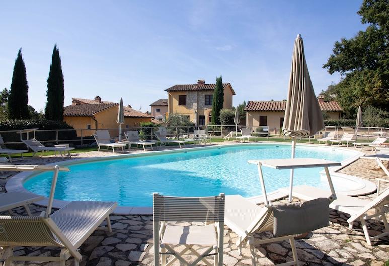 Tuscany Country Apartments, Gambassi Terme, Basen