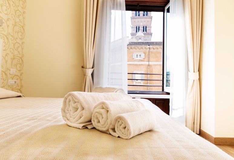 萊雷斯埃斯奎利諾酒店, 羅馬, 高級雙人房, 城市景, 客房