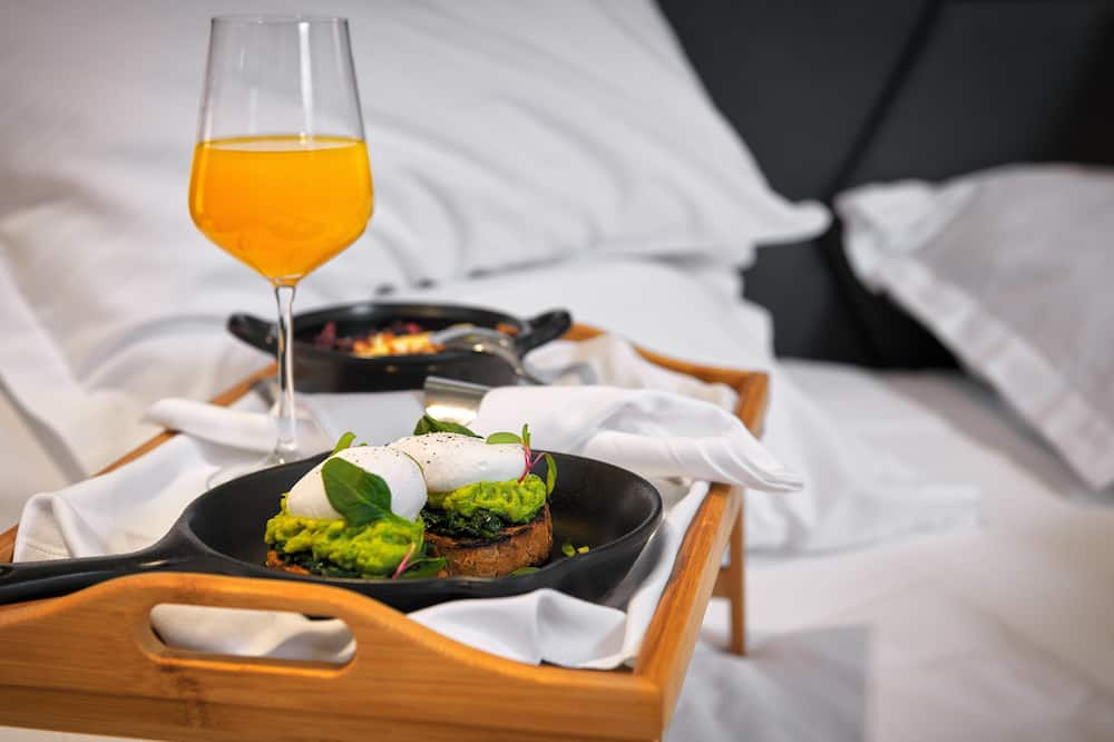 標準雙人房 - 客房內用餐