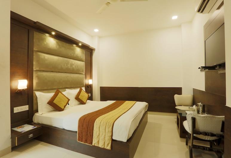Hotel Aeropath, Yeni Delhi, Superior Tek Büyük Yataklı Oda, 1 Çift Kişilik Yatak, Sigara İçilebilir, Oda