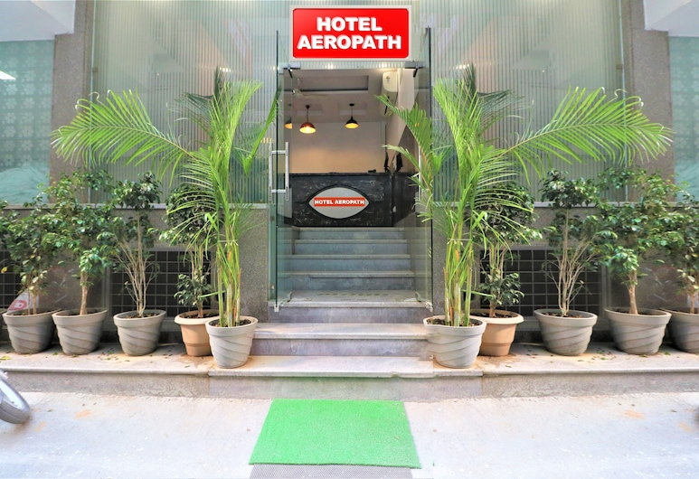 Hotel Aeropath, New Delhi, Hotel Front