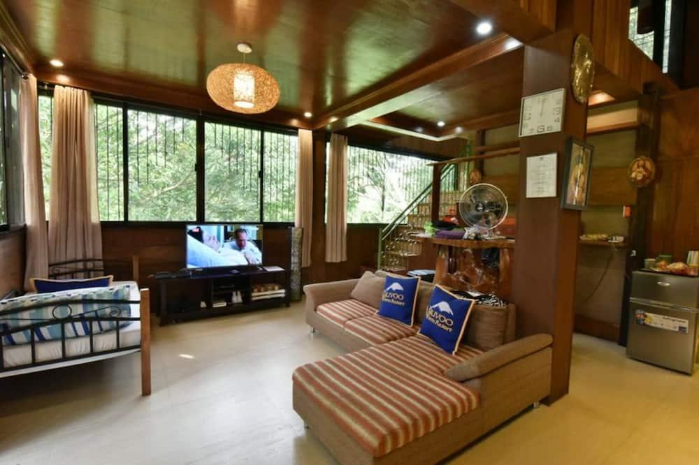 Family Villa, 1 Bedroom - Living Area