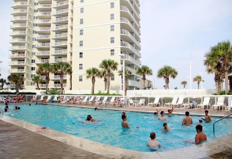 Seaside Beach And Racquet 2306 1 Bedroom Condo, Pantai Orange , Condo, 1 Bedroom, Kolam Terbuka