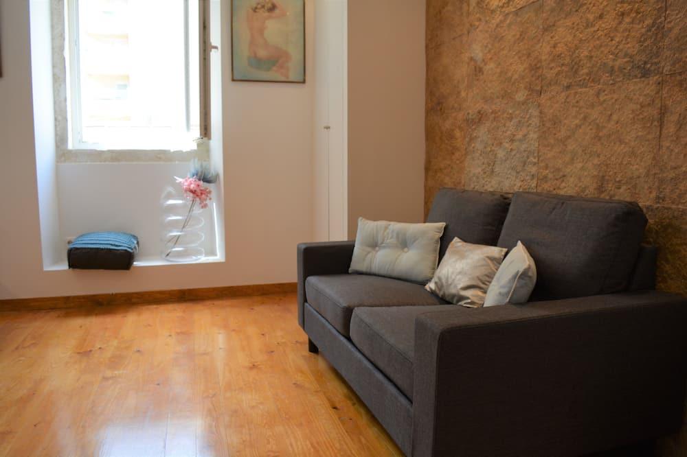 Апартаменты, 1 спальня (1st Floor) - Гостиная