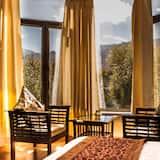 Deluxe tweepersoonskamer, 1 tweepersoonsbed - Uitzicht vanaf balkon