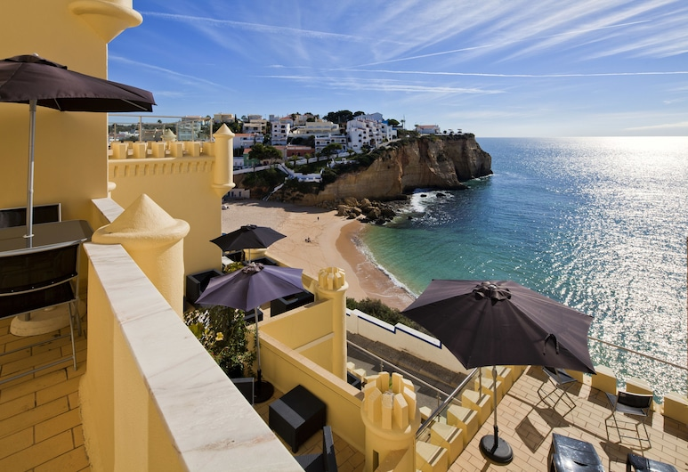 Castelo Guest House, Carvoeiro, Pohľad na hotel