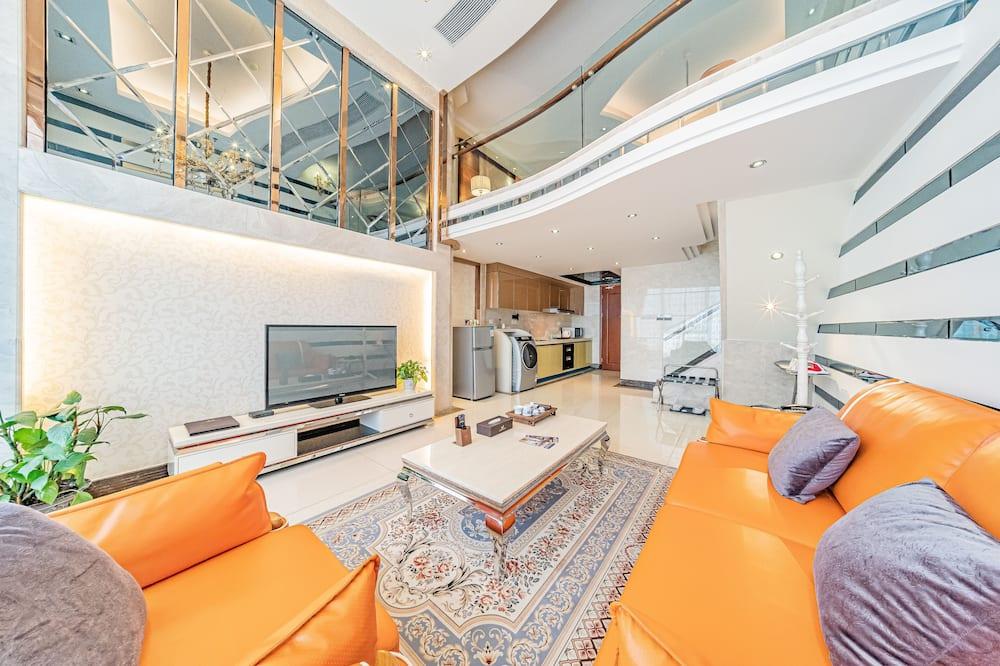 Deluxe Duplex (King-Bed)  - Living Area