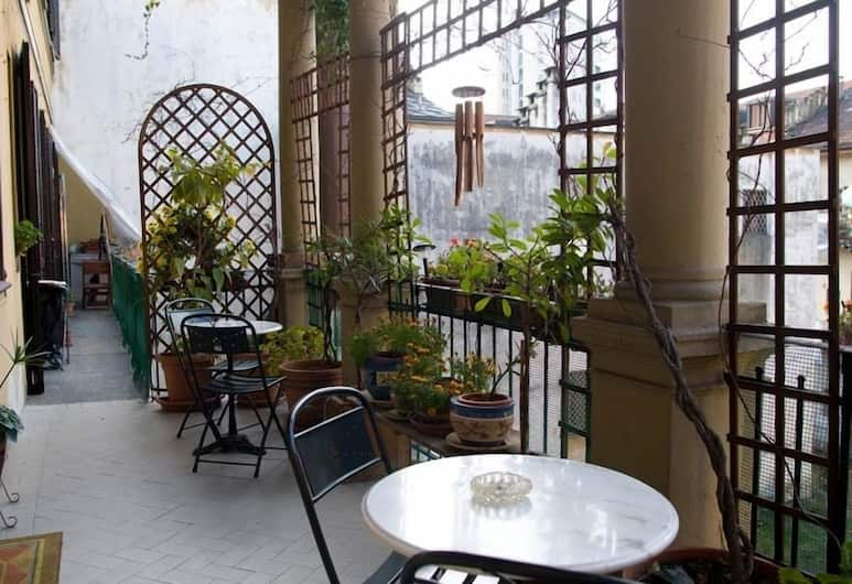 Hotel Azalea, Torino, Terrazza/Patio