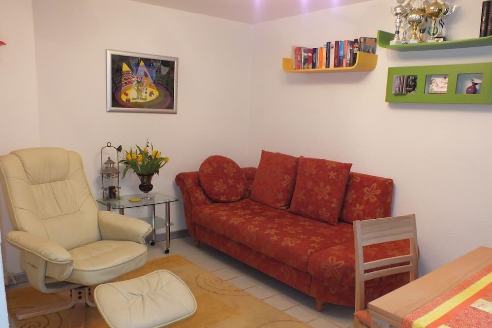 Casa, 2 habitaciones, para no fumadores, vista al jardín - Sala de estar