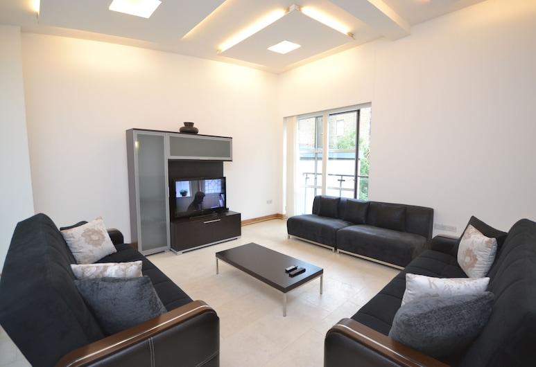 埃奇韋爾路公寓酒店, 倫敦, 標準公寓, 4 間臥室, 客廳