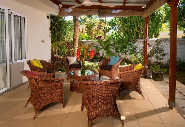 Gardens Retreat, Grand-Baie, Lodge, 3 Bedrooms, Garden View, Garden Area, Balcón