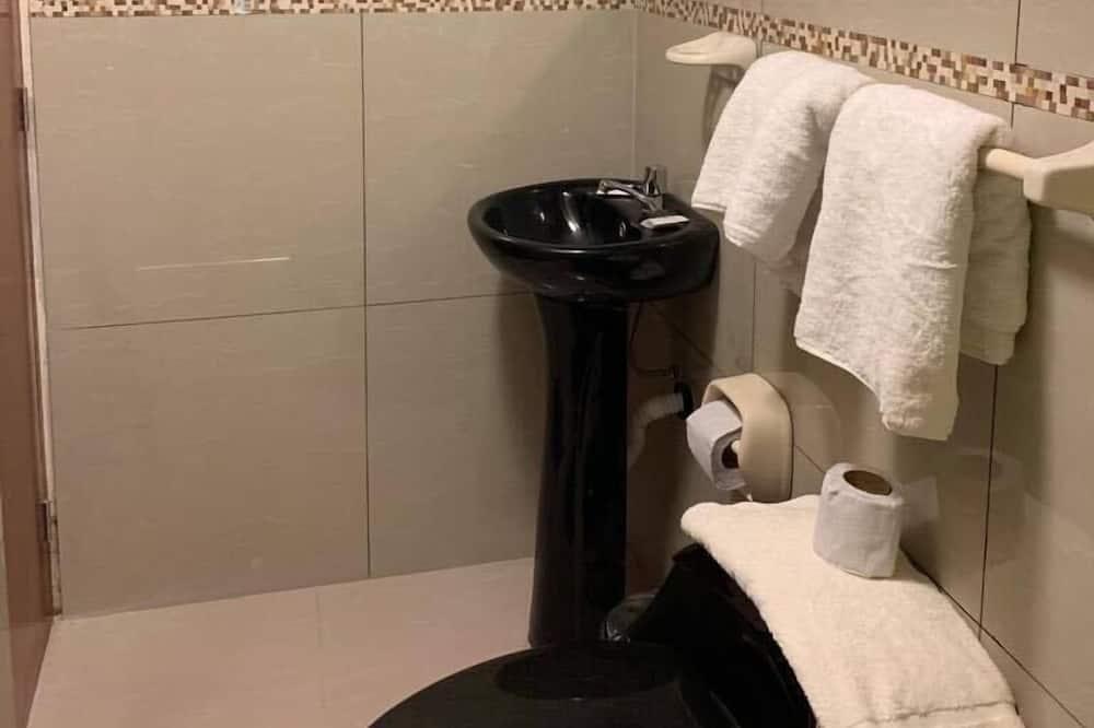 Standartinio tipo kambarys, 1 miegamasis, vaizdas į miestą - Vonios kambarys