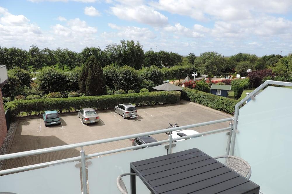 Comfort suite, 2 slaapkamers, niet-roken, gedeeltelijk uitzicht op meer - Balkon