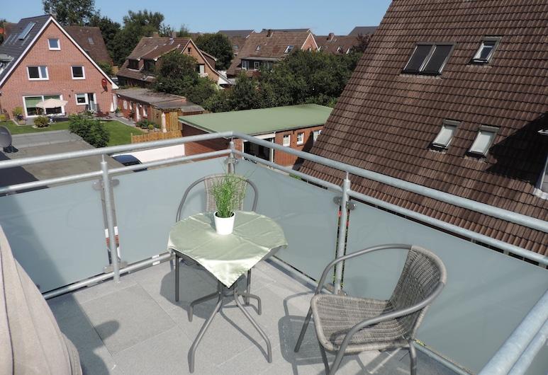 Pension Weimann, Büsum, Comfort Double Room, Balcony, Balcony