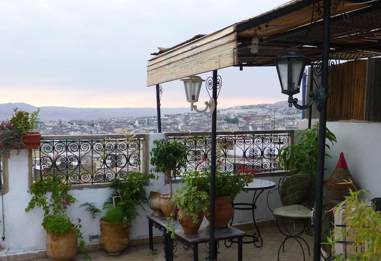 Dar Naima - Hostel, Фес, Терраса/ патио