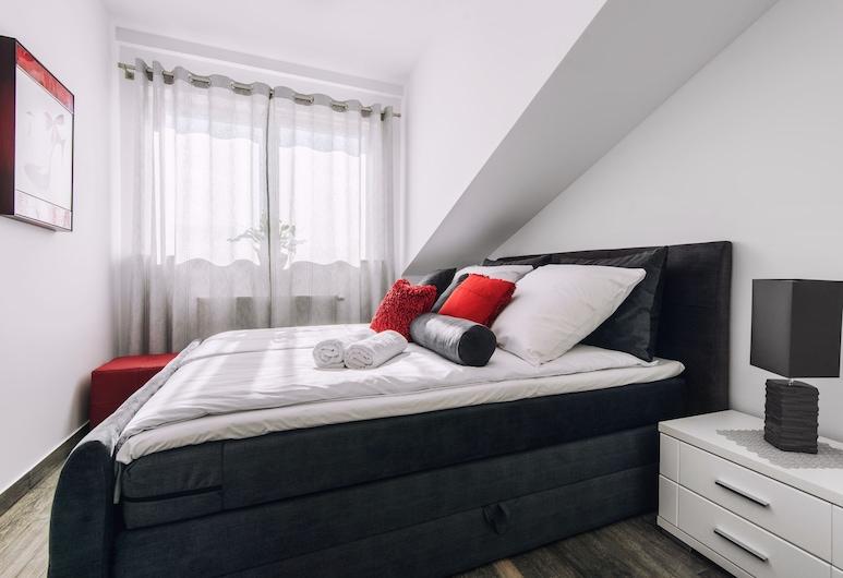 City Lights Apartments - Arianska, Kraków, Apartament typu Design, 1 sypialnia, aneks kuchenny, Pokój