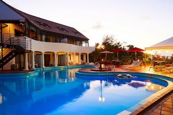 恩納一期一會泳池別墅渡假村的相片