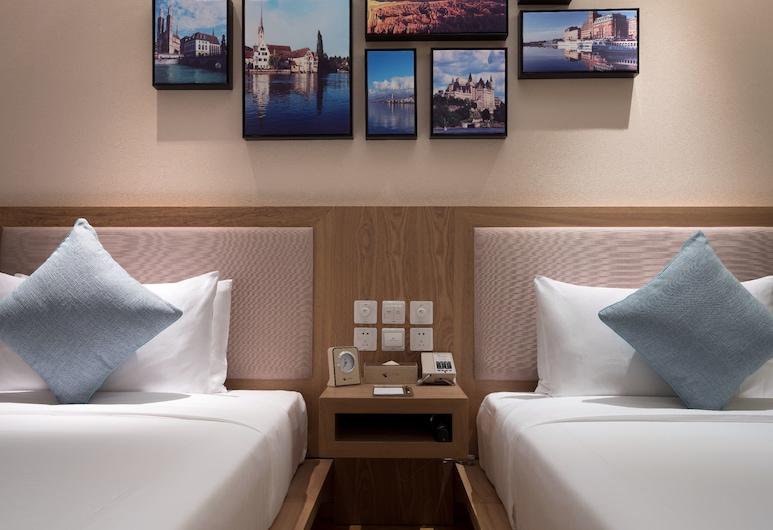 苏州绿江南饭店, 苏州市, 高级双床房, 客房