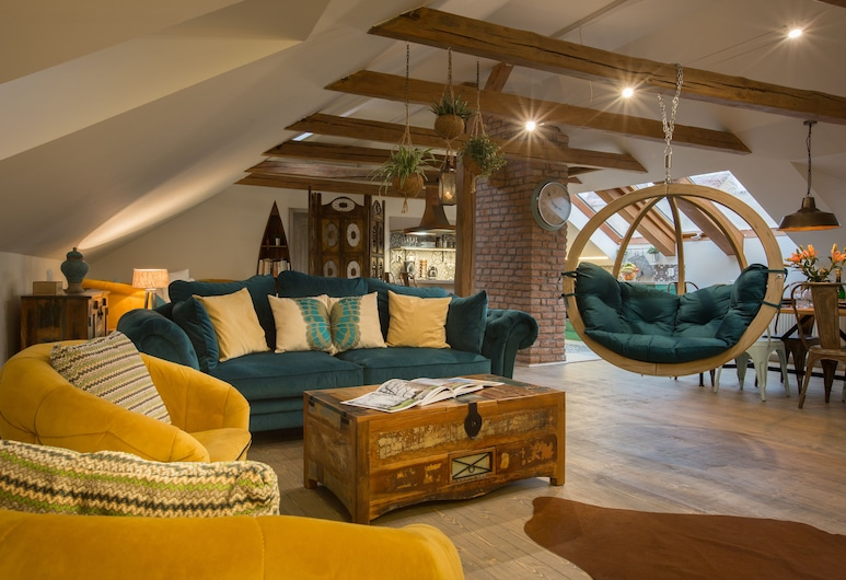 Old Town Boho Chic Attic, Praga