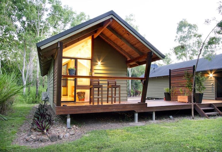 Airlie Beach Eco Cabins, Woodwark, Design Studio, 1 Katil Ratu (Queen), Garden View, Garden Area, Kawasan Hartanah