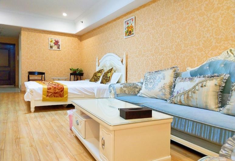 Nanjing TY Holiday Hotel, נאנג'ינג, חדר דה-לוקס, חדר אורחים