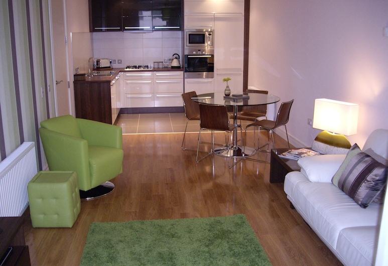 Titanic View Apartment, Belfast, Apartmán typu Superior, vlastná kúpeľňa (Two Bedroom ), Salónik