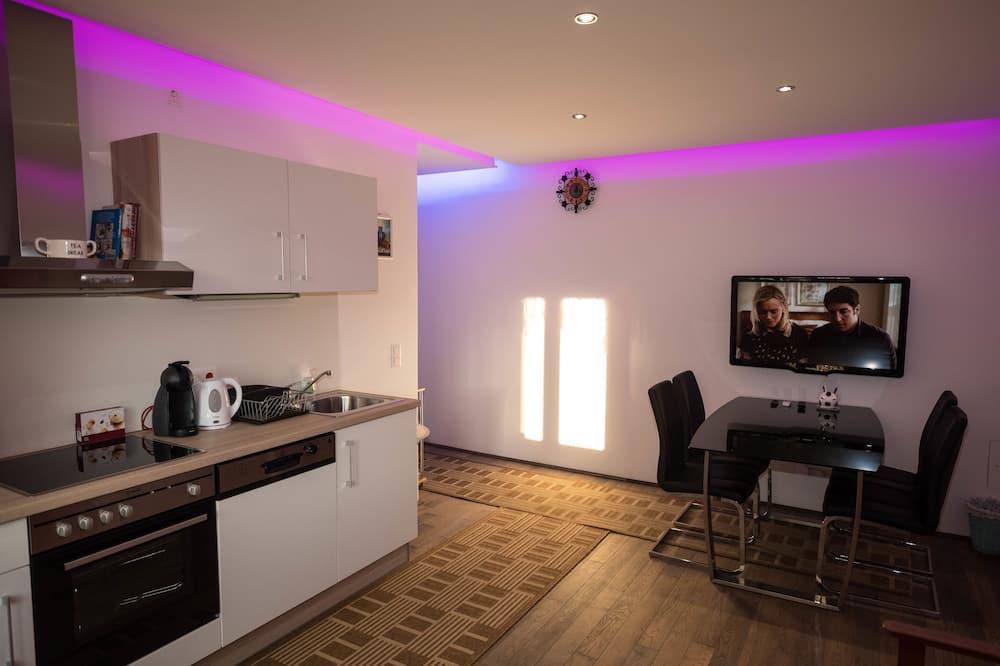 Апартаменты, 2 спальни (incl. final cleaning fee € 25,-) - Обед в номере