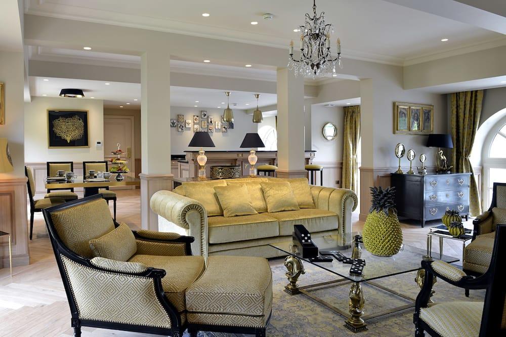 總統套房, 2 間臥室, 無障礙 - 客廳