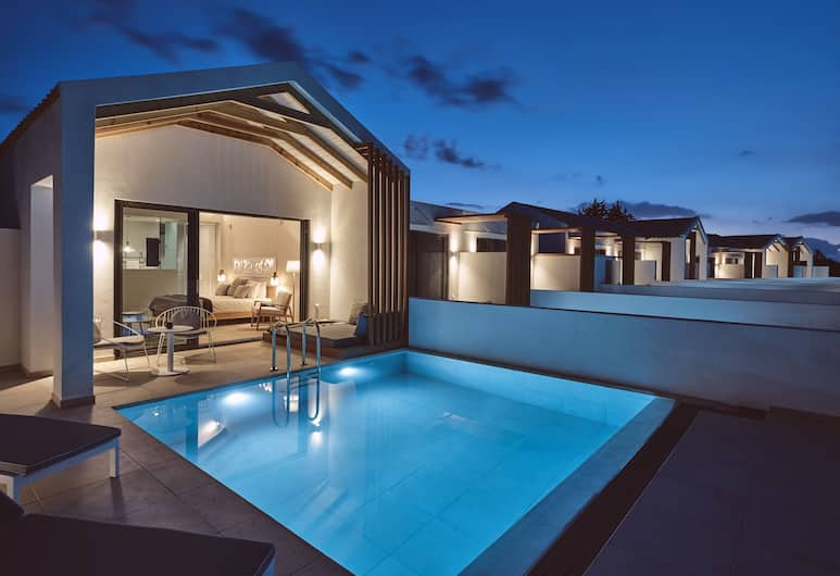 Hotel St. John Suites and Spa-Adults Only, Zante, Deluxe Suite with Private Pool & Sea View, Camera