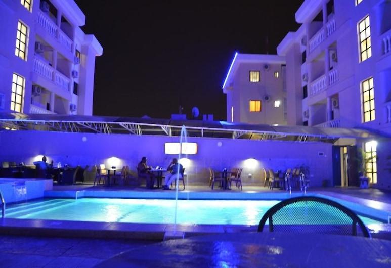 Residency Hotel Area 11 Abuja, Abuja, Pool