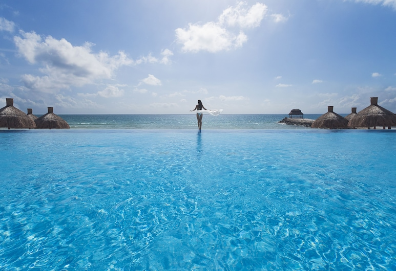 Ventus at Marina El Cid Spa & Beach Resort - All Inclusive, Puerto Morelos, อินฟินิตี้พูล