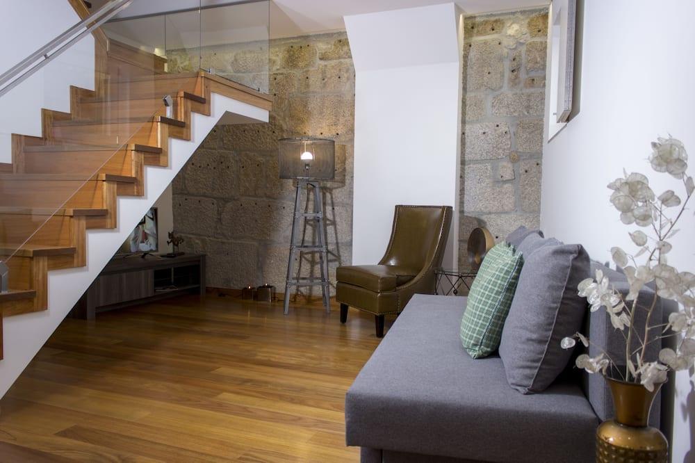 Divstāvu numurs, divas guļamistabas (4th Floor) - Dzīvojamā istaba