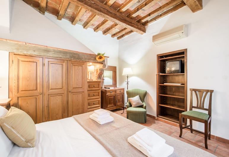 Santo Spirito Apartments, Florence, Appartement, 2 chambres, balcon, Chambre