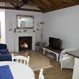 Casa de campo Deluxe, 2 habitaciones, con acceso para silla de ruedas, con vista al jardín - Sala de estar