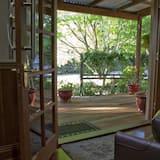 Casa de campo romántica, 1 habitación - Terraza o patio