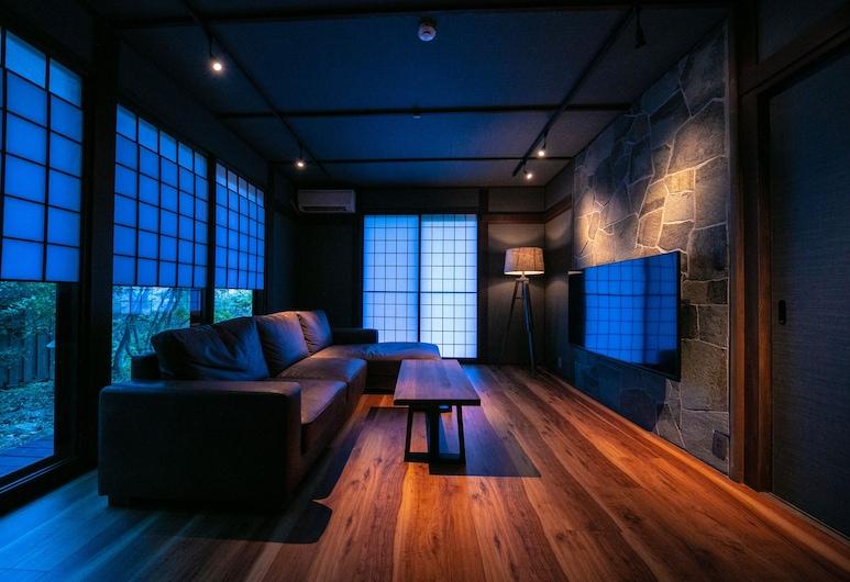 Yufuin Kaze no Mori, Yufu, Pokoj typu Premium (Japanese Western, Open-air Bath), Pokoj