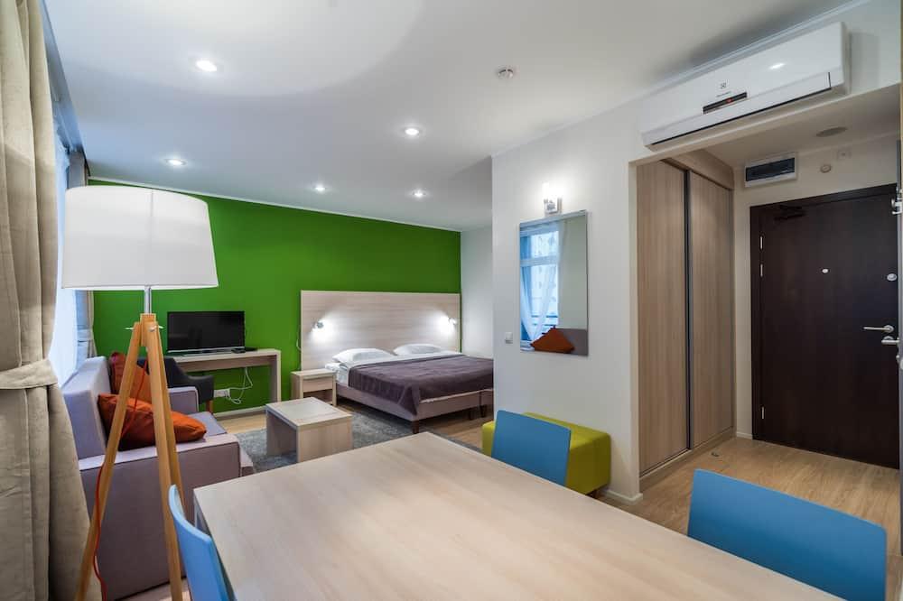 Estudio Confort, cocina - Sala de estar
