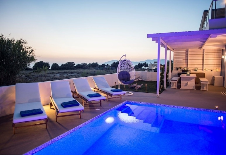 Seabreeze Villa,  Κως, Εξωτερική πισίνα
