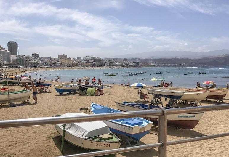 Beachfront sea view Las Canteras V, Las Palmas de Gran Canaria, Plaża