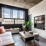 อพาร์ทเมนท์, 1 ห้องนอน (401) - ห้องนั่งเล่น