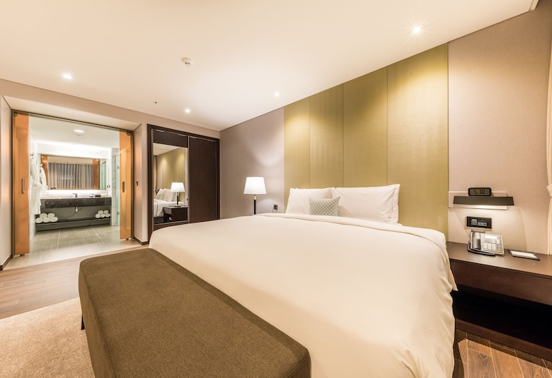 Howard Johnson by Wyndham Incheon Airport, Incheon, Suite, 1 très grand lit, non-fumeurs, Chambre