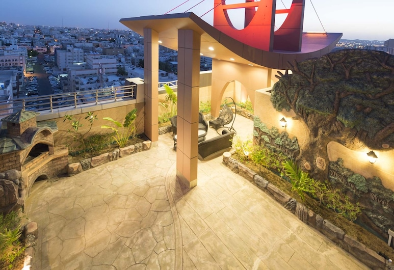 Renz Hotel, Jeddah, Villa - 4 soveværelser, Terrasse/patio