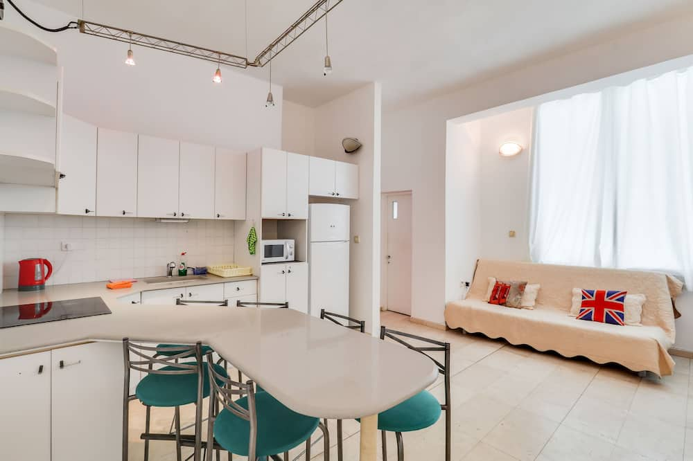 コンフォート アパートメント 1 ベッドルーム - リビング エリア