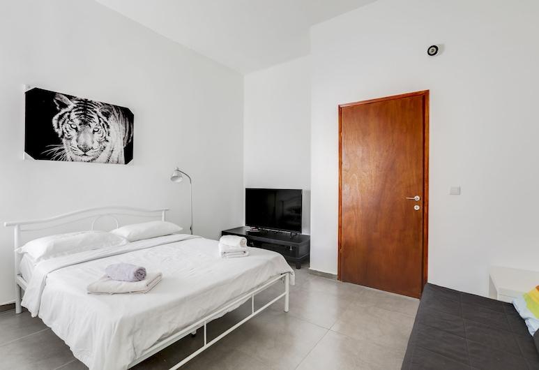 波格拉歇夫海灘附近中央公寓酒店, 特拉維夫, 舒適開放式客房, 客房