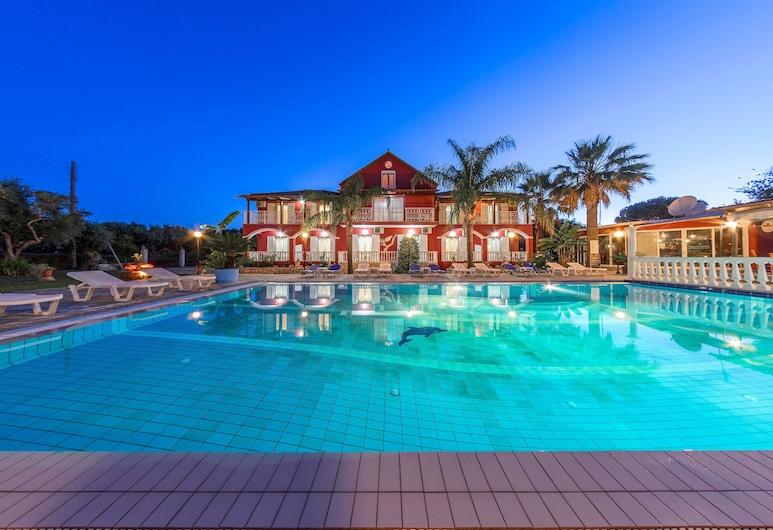 Borsalino Studios & Apartments, Ζάκυνθος, Εξωτερική πισίνα
