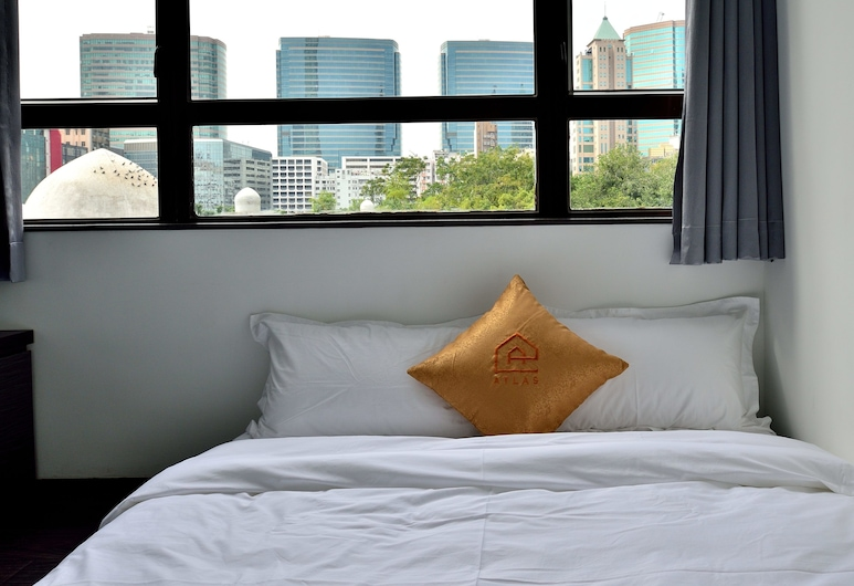 Atlas GuestHouse & Backpackers, Kowloon, Deluxe Room, Park View, Guest Room