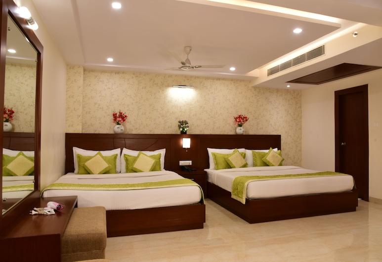 Hotel Varanasi Inn, Varanasi, Pokój dwuosobowy, rodzinny, Pokój