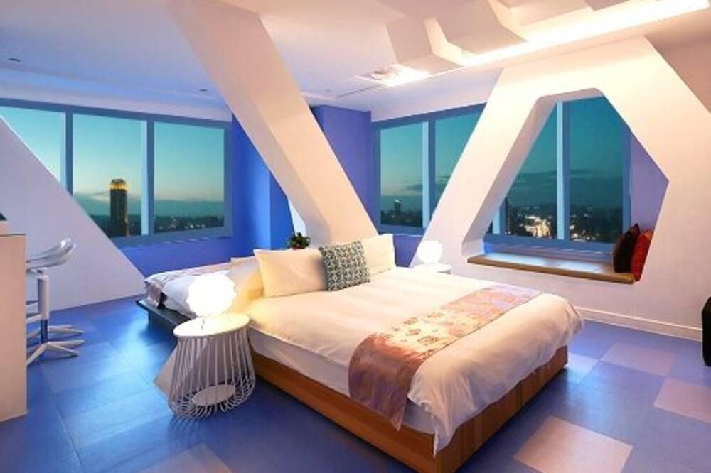 都會四人房, 2 張標準雙人床 - 兒童主題客房