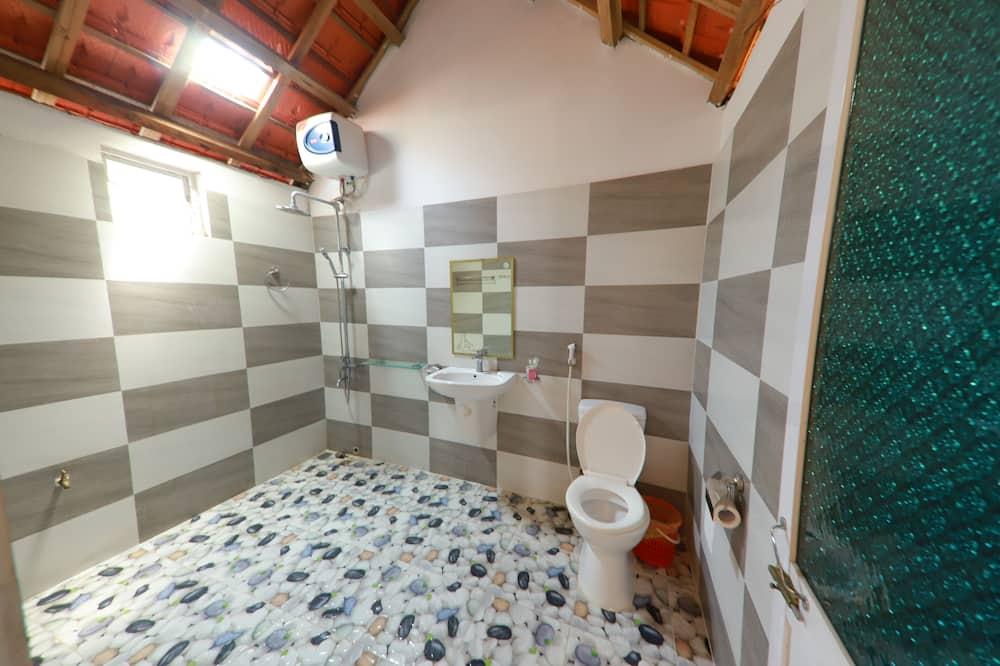 ห้องดีลักซ์ดับเบิล, วิวสวน - ห้องน้ำ